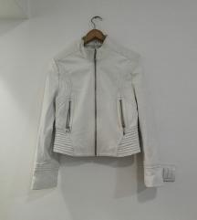 Bela kozna jakna AKCIJA