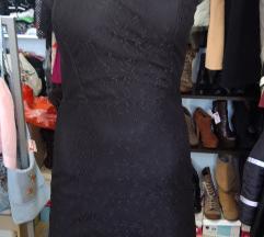 Mala crna haljina cipkana