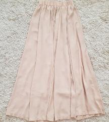 Puder roze duga suknja