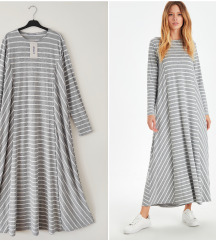 RezzLC Waikiki maxi stripes dress Novo