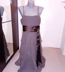 Viseslojna svecana haljina od tila