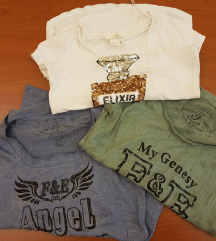 3 majice kratkih rukava