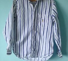Prugasta muška košulja