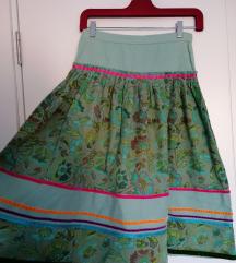 Boho vintage indi suknja XS S