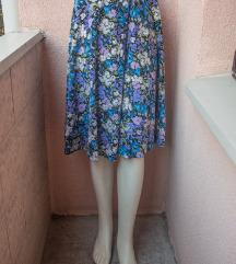 VINTAGE suknja na preklop '90s M/L