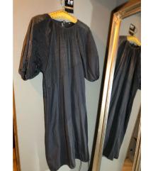 Zara duga haljina sa puf rukavima