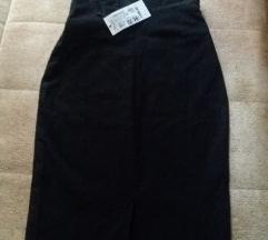 Nova crna pencil suknja, veličina 36 700 rsd