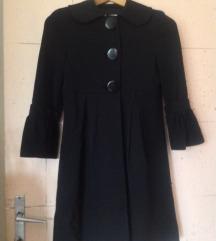 crni elegantni kaput / mantil