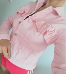 CALLIOPE Roze Texas jakna sa karnerom - NOVA!