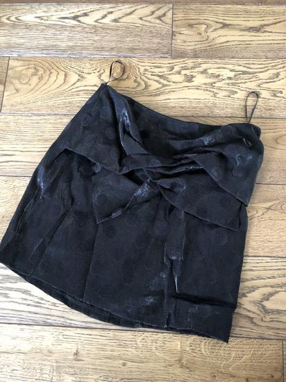 Mango crna mini suknja