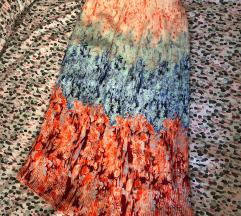 H&M plisirana sarena suknja