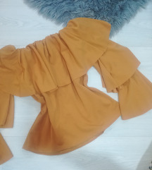 bluza boje senfa