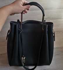 Dve torbe - crna torba NOVO