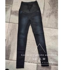 Trudnicke pantalone S,M