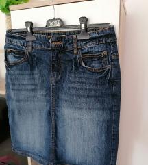 💥JOHN BANER💥 Kvalitetna teksas suknja