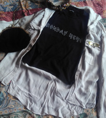 Bershka crna majica