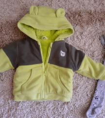 Divna polar jaknica za 1-1,5 god + poklon