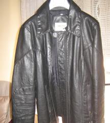 Kožna crna jakna GAS-br.40-NOVA