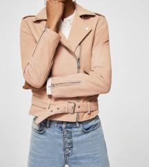 MANGO NOVA genuine leather jakna | kozna |
