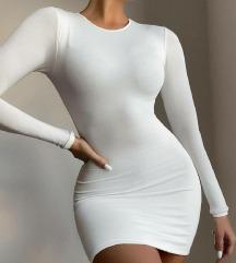Pamucna siva haljina