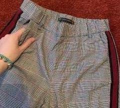 Zara TRF 7/8 karirane pantalone