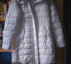 Dugačka bela jakna NOVA L