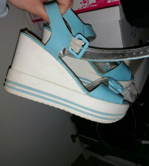 Plave sandalice