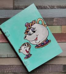 Lepotica i zver kutija u obliku knjige