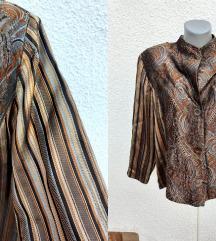 Kimono satenska jakna rezz