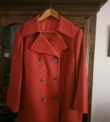 Kaput zimski boje terakot za punijeAkcija dame