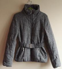 Siva kratka jakna