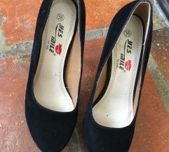 Crne cipele! Kao nove! 36