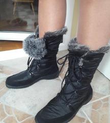 Ara Gore-Tex crne cizme sa krznom 8H/27,5cm NOVE