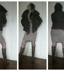 MANGO Suit perjana ženska jakna + mere