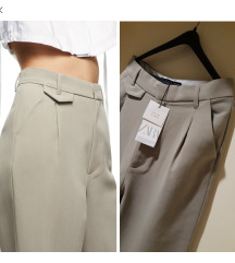 Dostupne jos sutra! 🖤 Zara pantalone NOVO! 🖤