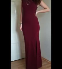 Nova bordo dugacka haljina