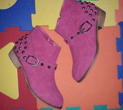 NOVO pink gleznjace cizme 39