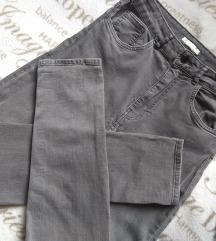 🖤HM Shaping High Jeans Light Denim Gray 🖤