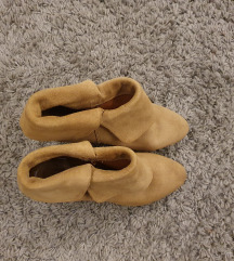 Kozne cizme na platformu, Zara