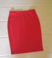 Potpuno nova duboka suknja do kolena od zerseja