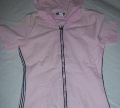 Roze majica sa kapuljacom GIORDANO