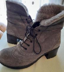 Kozne cipele cizme sa krznom