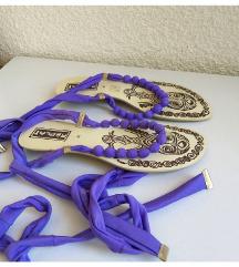 REPLAY sandale rimljanke na vezivanje