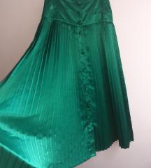 Duga smaragdna suknja