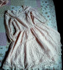 NOVA predivna roze haljina dailylook