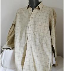 6.5.2. Bež XL elegantna košulja