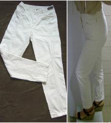 Vintage mom deblje cropped farmerke/pantalone M/S