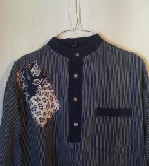 Muška košulja u patchwork stilu