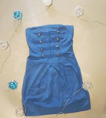 Top plava haljina