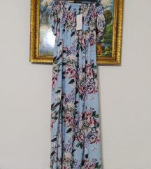 Nova Newyorker plava  maxi haljina sa etiketom
